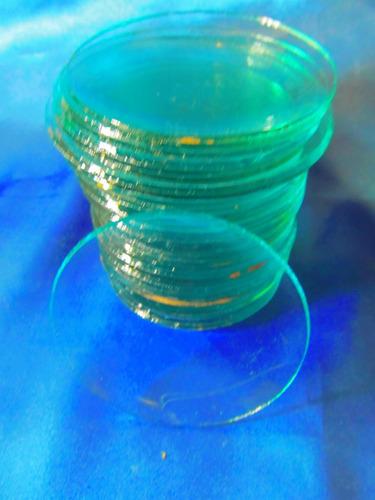 el arcon 31 vidrios redondos concavos  iluminacion 13012