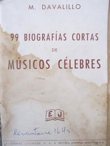 el arcon 99 biografias cortas de musicos celebres verdi-bach