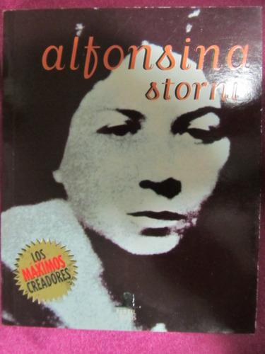 el arcon alfonsina storni biografia y poemas