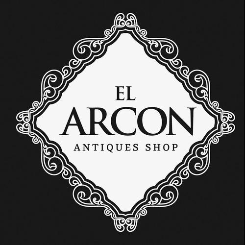 el arcon antigua anfora potiche porcelana y bronce 40cm 3007