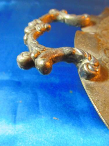 el arcon antigua bandeja de metal rep sheffield   34051