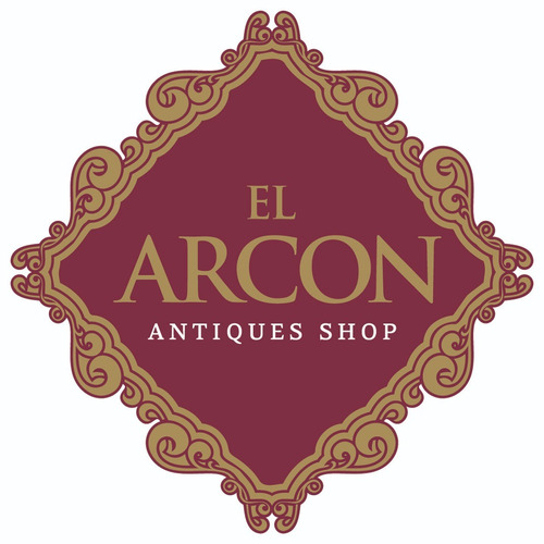 el arcon antigua bandeja metal blanco estañado  16 cm 5508