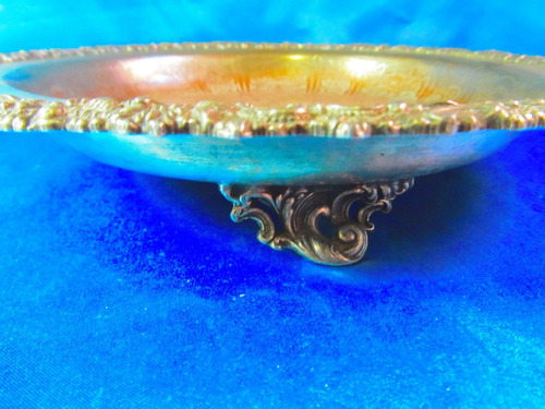 el arcon antigua bandeja plata reproduccion sheffield 2501