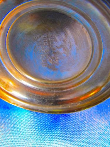el arcon antigua cafetera de plate bellini brasil 12cm 40074