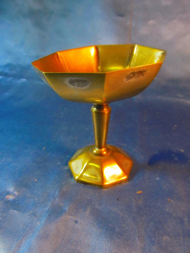 el arcon antigua copa de plata toledo 9,8cm diam 9,2cm 33059