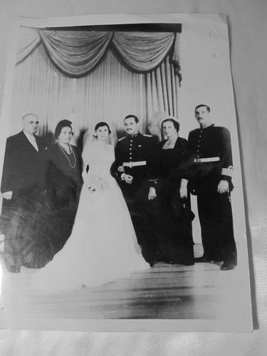 el arcon antigua fotografia blanco y negra casamiento 135