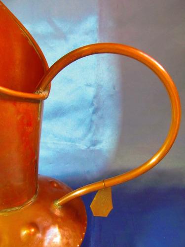el arcon antigua jarra para agua de cobre 37 cm 6535