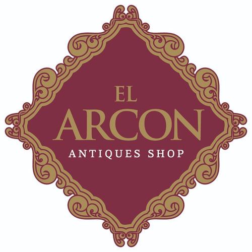 el arcon antigua percha portamaceta de bronce labrado 4509