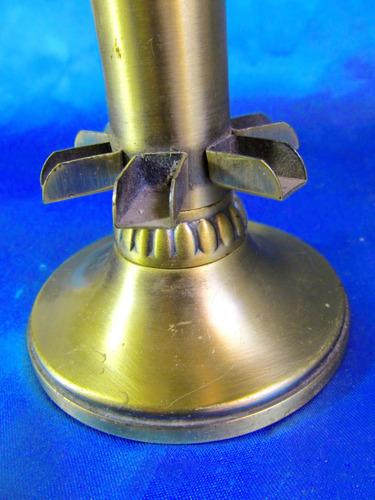 el arcon antigua pieza de bronce pitillero cigarrero 23067