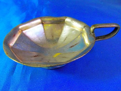 el arcon antigua ponchera de metal 25052