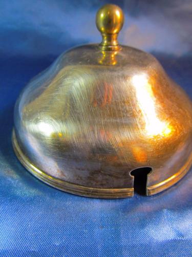 el arcon antigua tapa para masitera de plata 11,3cm 41076