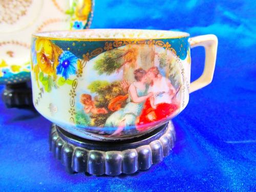 el arcon antigua taza de cafe de coleccion viejo viena 23109