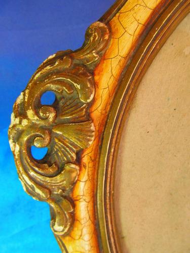 el arcon antiguo bandeja marco frances 42 cm  m1121