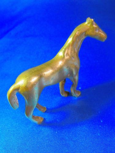 el arcon antiguo caballo de bronce trabajado 6x7,4cm 11538