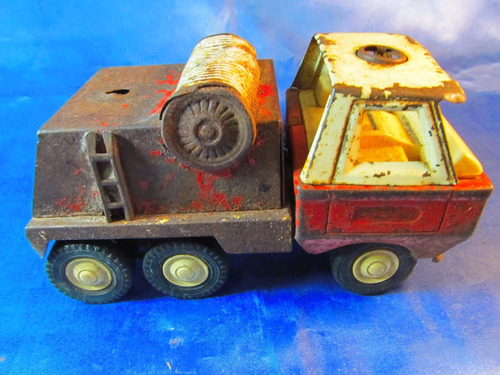 el arcon antiguo camion de chapa 18cm 34058