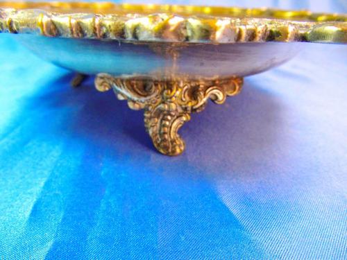 el arcon antiguo centro de mesa rep sheffield labrado  26054