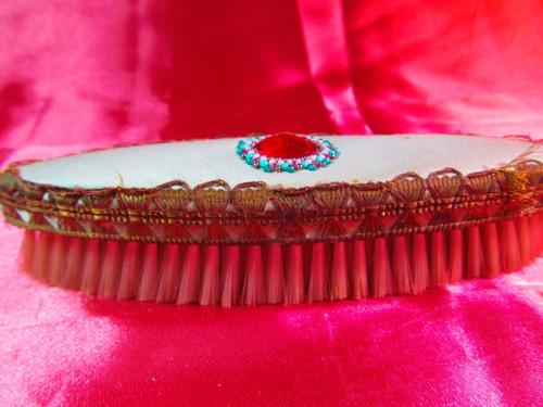 el arcon antiguo cepillo de ropa cocido a mano 17,5cm 64511