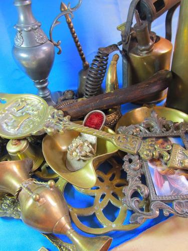 el arcon antiguo gran servilletero de bronce 5cm 44082