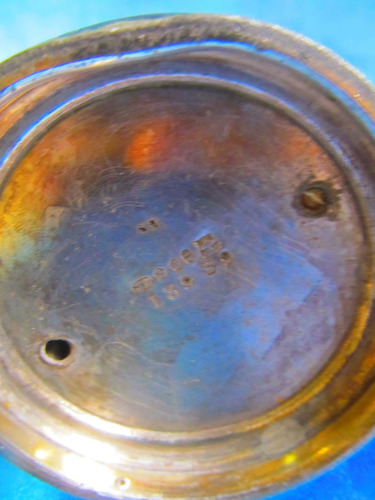 el arcon antiguo jarron de metal  10069