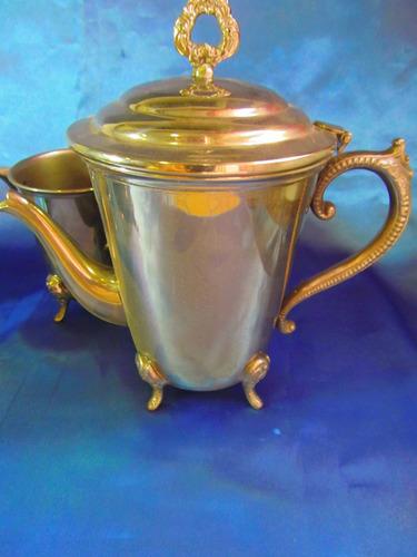 el arcon antiguo juego de te cafe plata rep sheffield  12054