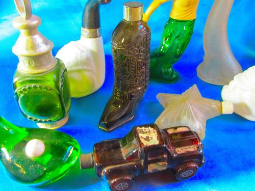 el arcon antiguo perfumero avon de coleccion  delfin 2010