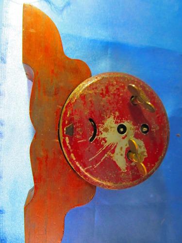 el arcon antiguo reloj de  mesa vintage retro escassany 950