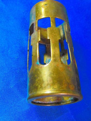 el arcon antiguo servilletero de bronce 7,8x3,5cm 11525