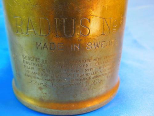 el arcon antiguo soldador de bronce radius sweden 52b 42055