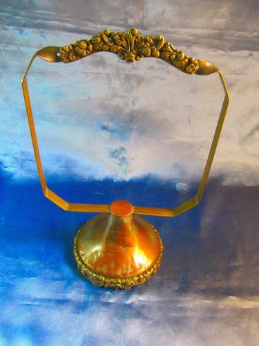el arcon antiguo soporte de bronce labrado 26,5cm 40056