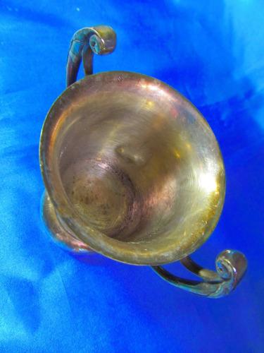 el arcon antiguo trofeo con asas y pie de metal 9,7cm 16059