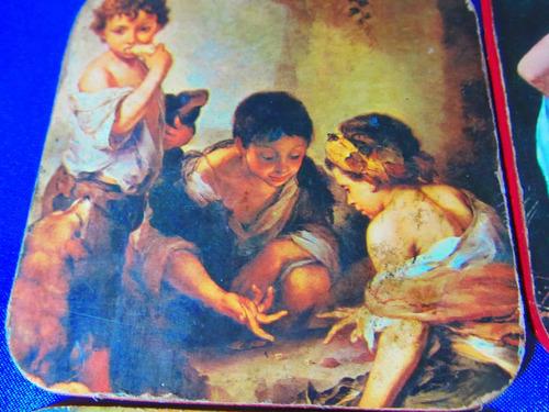 el arcon antiguos posavasos de coleccion rep.  murillo 622
