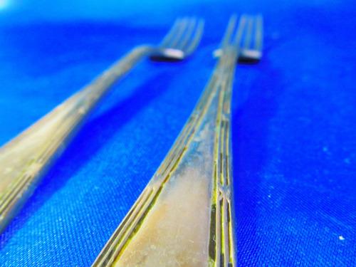 el arcon antiguos tenedores de coleccion alpaca 18cm 4535