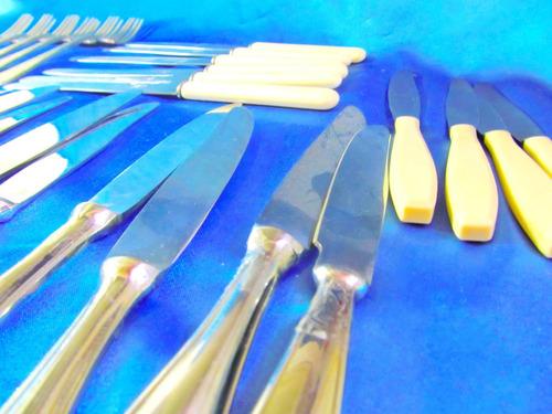 el arcon antiguos tenedores de coleccion alpaca 20cm 4536