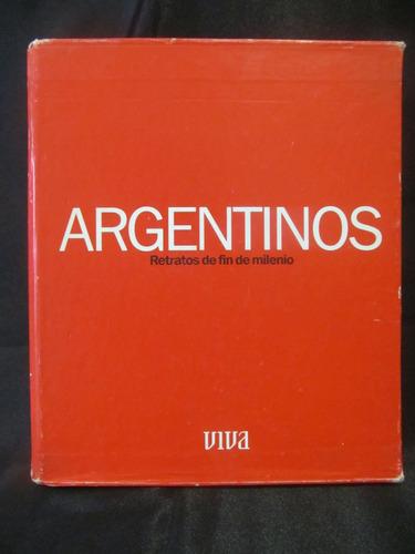 el arcon argentinos retratos de fin de milenio -  viva