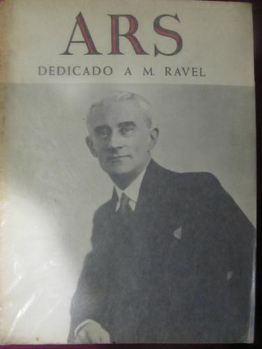 el arcon ars dedicado a m. ravel