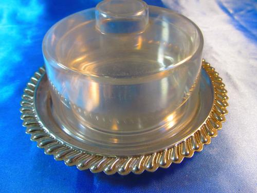 el arcon bandeja de metal y acrilico dulcera 16cm 56503