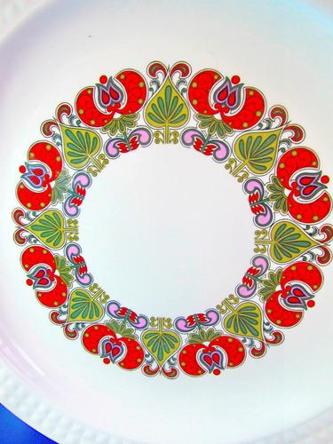 el arcon bandeja porcelana pontesa made in spain 30cm 10103