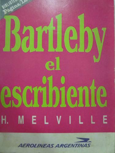 el arcon bartleby el escribiente de h. melville