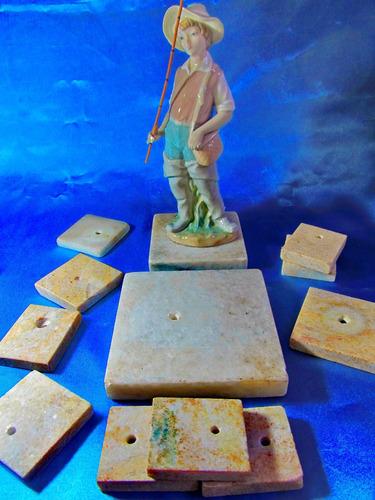 el arcon base soporte marmol trofeos/estatuas v medidas 757