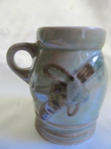 el arcon bellisimo y decorativo  jarro ceramica sellado 5133