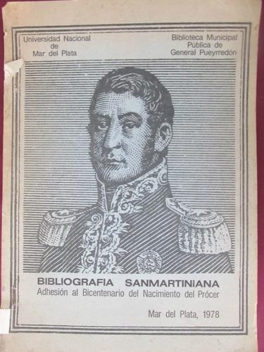 el arcon bibliografía sanmartiniana - 1978