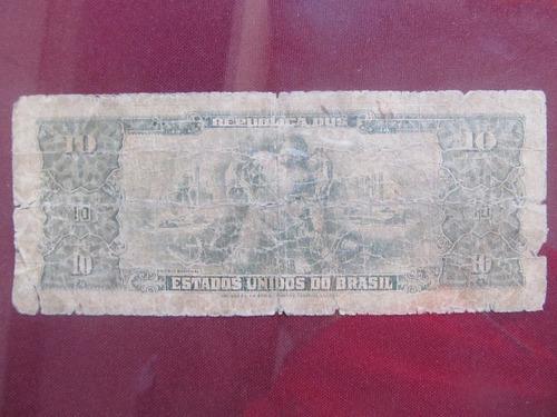 el arcon billete brasil de diez cruzeiros 38602