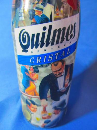 el arcon botellas de cerveza quilmes de coleccion 46501