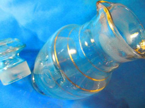 el arcon botellon de cristal tapa y doble pico vertedor 302