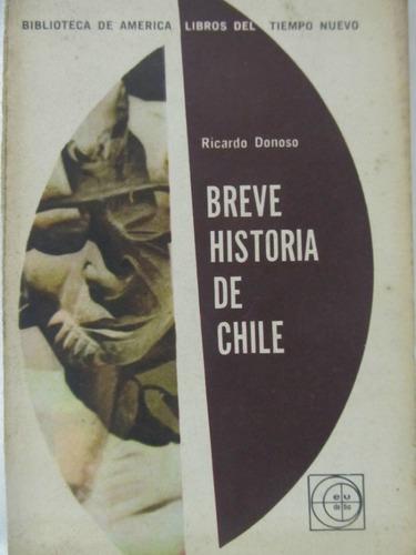 el arcon breve historia de chile por ricardo donoso