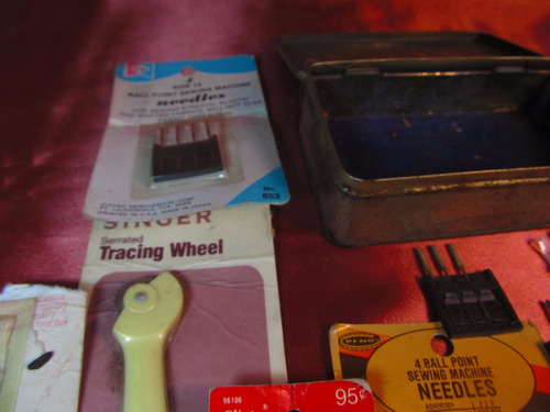 el arcon caja con agujas de varias medidas 49504