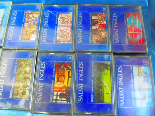el arcon cassette lote x 16 salvat ingles 10053