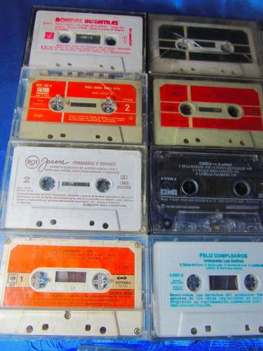 el arcon cassette lote x 17 sosa, mihanovich, etc 10052