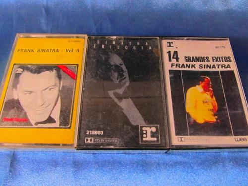 el arcon cassette lote x 3 frank sinatra 10064