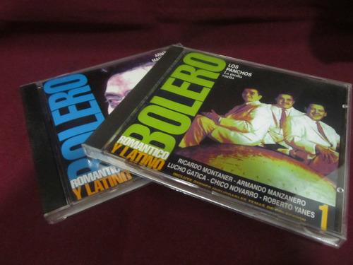 el arcon cd bolero romantico y latino (montaner, manzanero)